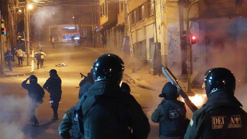 EFE-ENFRENTAMIENTOS-BOLIVIA-POLICE