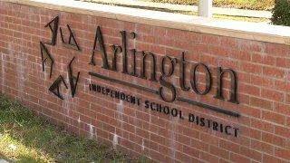 Arlington ISD sign