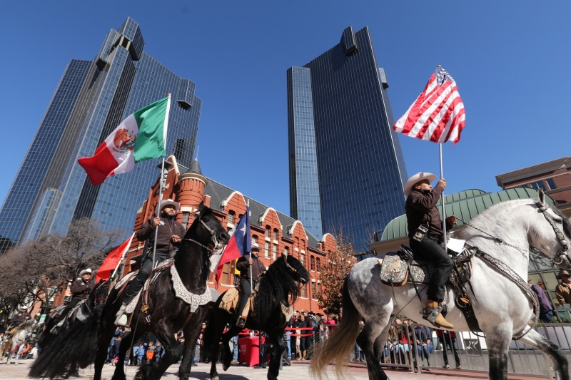 Gran desfile del Fort Worth Stock Show & Rodeo 2020