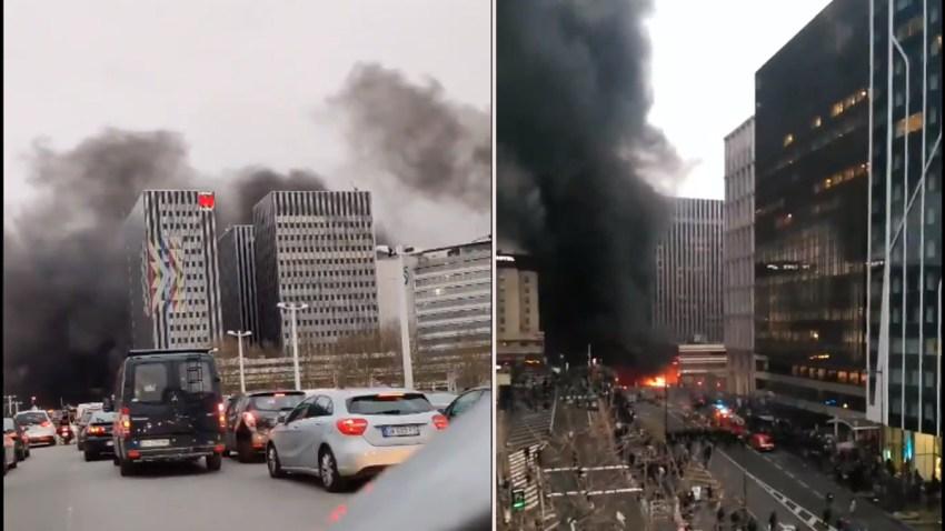En París, desatan incendio intencional por concierto de artista congolense.