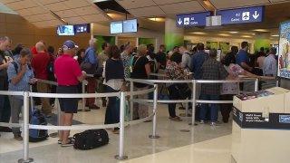 TSA AT DFW Airport