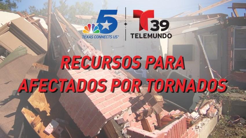 afectados tornados