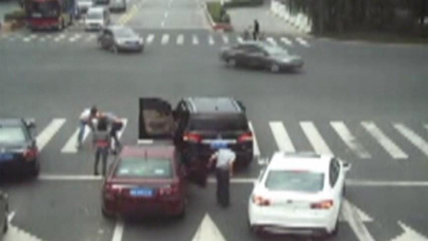 altercado-conductores-china
