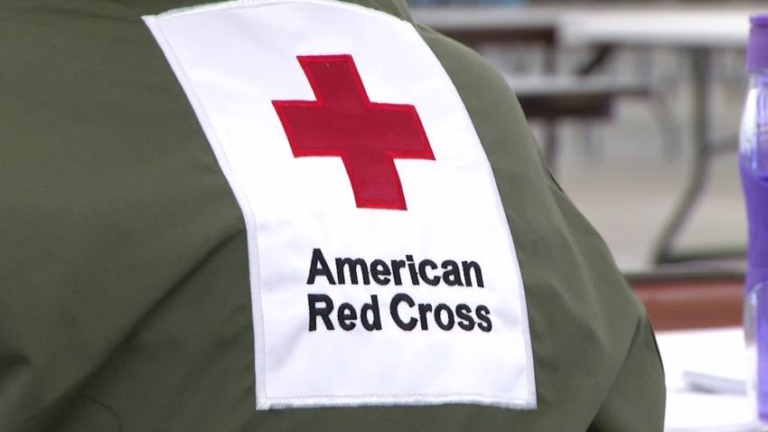 american red cross jacket logo