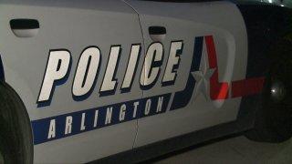 Arlington police department police car