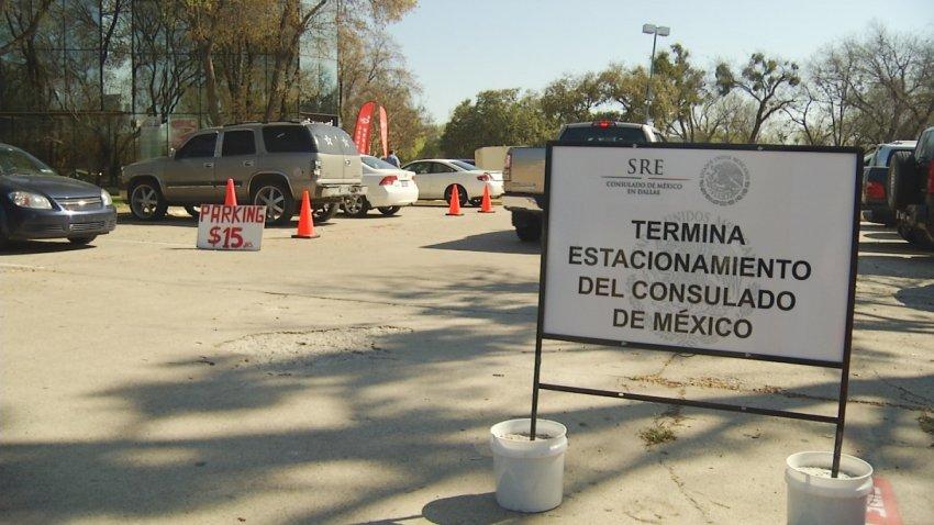 Consulado de México no cobra por el estacionamiento