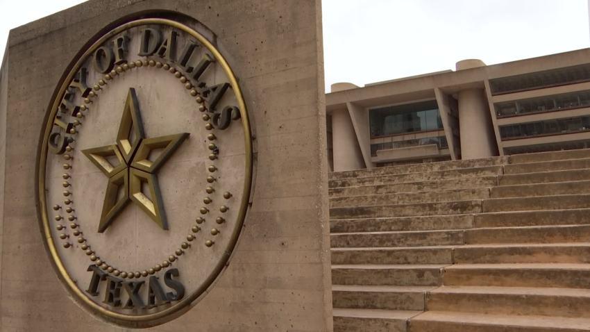 dallas logo city hall