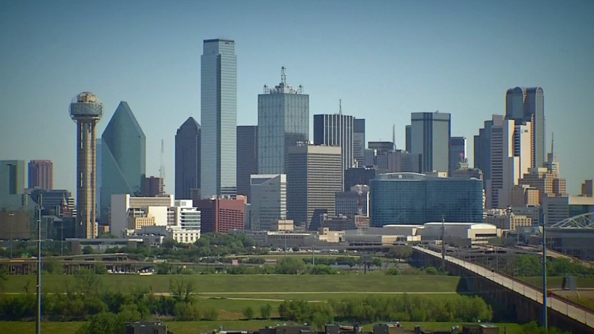 dallas skyline generic