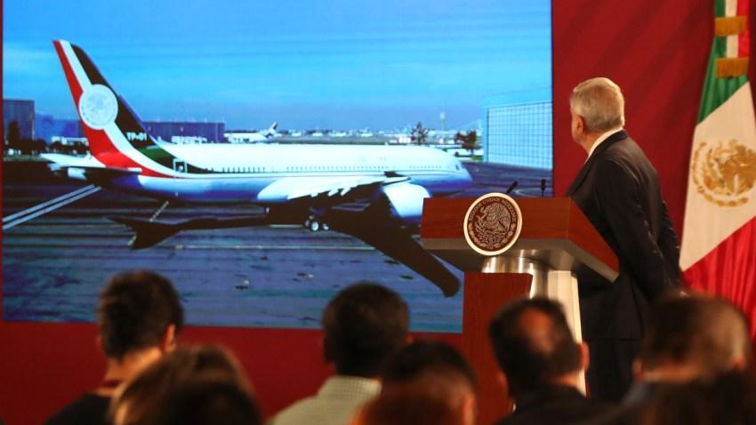 AMLO informa opciones para el avión presidencial