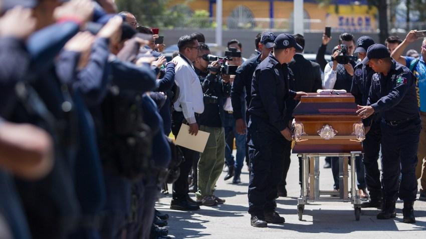 Funeral de un policía