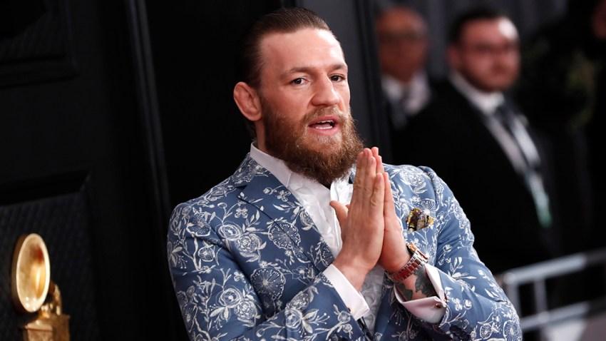 En la foto, el peleador irlandés Conor McGregor.