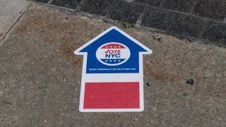 Early primary voting places opened in NYC.