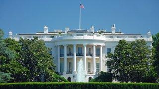 Foto de archivo de la Casa Blanca.