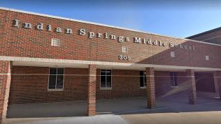 Indian Springs Middle School in the Keller ISD.