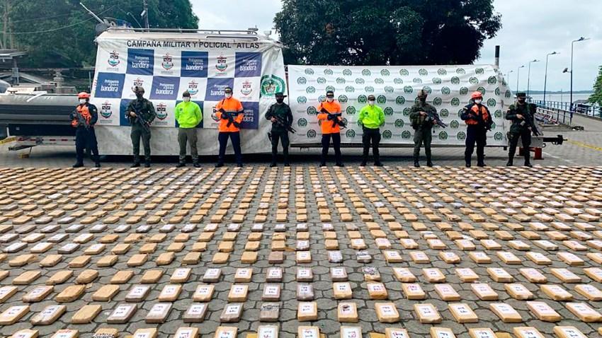 Colombia se incauta de droga para México