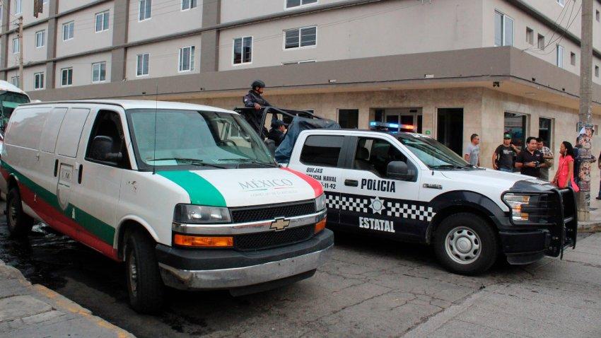 Patrullas de Veracruz en un operativo