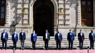 Gobernadores de la Alianza Federalista