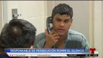Joshua Aguilar dice que se descontroló porque toma medicamentos y no lo hizo. Además se contradijo durante la entrevista y dijo que no podido...