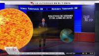 Pablo Sánchez Nuñez, meteorólogo de Telemundo 39 explica lo que esto significa.