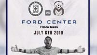 En el estadio Ford Center en Frisco, este 6 de julio.