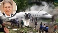 Autoridades y voceros dieron información del estado de los involucrados en el accidente del avión privado que partió de Austin, Texas, el martes con el...