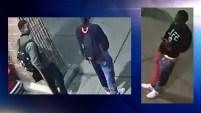 La policía busca a dos afroamericanos que portaban máscaras de gorila cuando cometieron su crimen contra Derrick Whitener afuera de un Target en Dallas.
