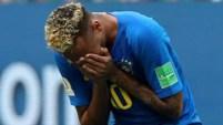 El astro brasileño no paró de llorar tras la victoria ante Costa Rica.
