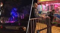 La niña de 10 años fue expulsada del juego mecánico y cayó contra el suelo en un festival en Sourth Jersey. Fue trasladada a un...