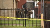 La policía de Garland se encuentra tras la pista del sospechoso de cometido al menos tres robos en unos departamentos de Dallas.