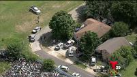 Caso ocho horas después de ser raptado a punta de pistola, la policía de Dallas encontró a Nicholas Fierros de diez años.