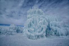 En detalle: así son los misteriosos castillos de hielo de EEUU