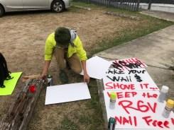 Alistan protestas contra Trump en McAllen