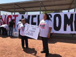 """Trump """"no es bienvenido"""" en El Paso"""