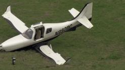 Avioneta se estrella momentos antes de aterrizar