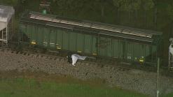 Tren atropella a una persona en el condado Denton
