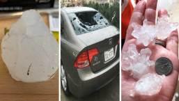Fotos de televidentes: Daños por tormentas con granizo en el norte de Texas