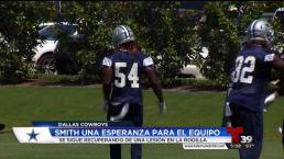 Jaylon Smith posible arma poderosa de los Vaqueros de Dallas en el 2017