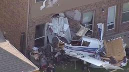 Avioneta choca contra una casa en McKinney