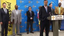 Caridades católicas en el Metroplex confirman ayuda con niños separados de padres