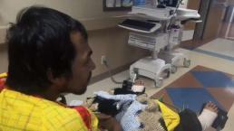 Difícil recuperación para hombre que quedó debajo de tren en Dallas