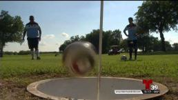 """Foot Golf"" gana popularidad en el norte de Texas"