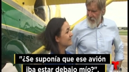 Revelan video de incidente con avioneta de Harrison Ford
