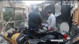 Familias latinas pierden todo durante un incendio.