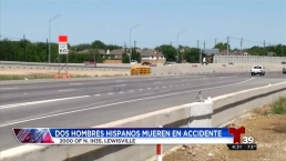 Mueren dos hispanos en accidente vehicular en Lewsville