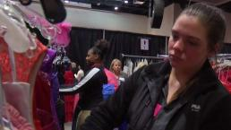 Ofrecen en Plano vestidos gratis para baile escolar