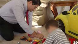 Padre salvadoreño recupera a su hijo