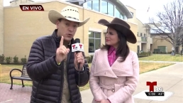 Ramón y Andrea se preparan para las cabras