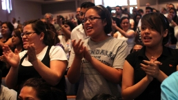 Los bautistas, los que creen en el bautismo de adulto