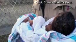 Una bebé recién nacida fue enterrada viva