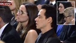 Marc Anthony se une a novia de José Fernández en funeral